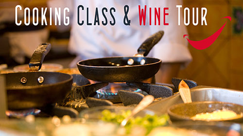 cooking class châteauneuf-du-pape wine tour