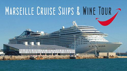 marseille cruise ships châteauneuf-du-pape wine tour
