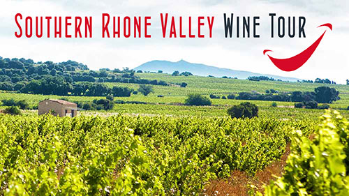 southern rhone valley cotes du rhone wine tour